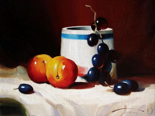 """""""Гладкие персики и виноград"""""""