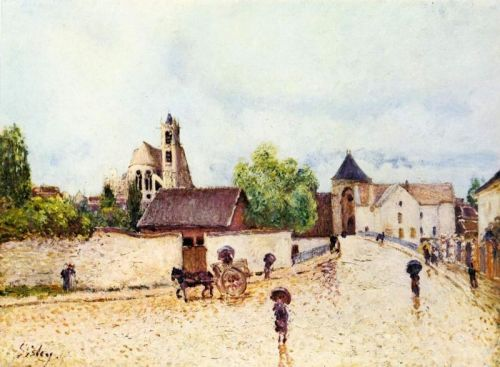 Дощ в Море-сюр-Луєн