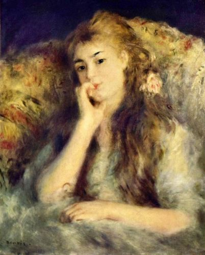 Портрет дівчини (Задумливість)
