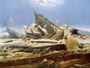 Фридрих Каспар Полярное море