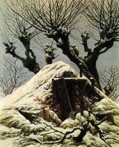 Фридрих Каспар Хижина в снегу