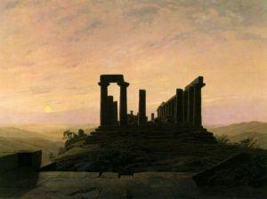 Фридрих Каспар Храм Юноны в Агригенте