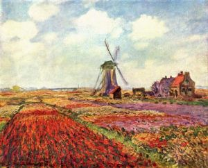 Моне Клод Тюльпаны Голландии
