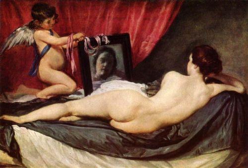 Венера с зеркалом (Венера Рокебю)