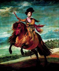 Веласкес Диего Конный портрет принца Балтазара Карлоса