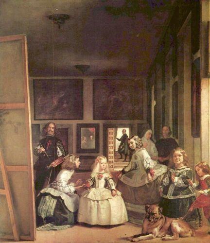Менины (автопортрет с членами королевской семьи)
