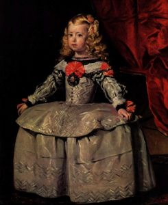Веласкес Диего Портрет инфанты Маргариты в трехлетнем возрасте