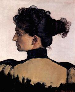 Ходлер Фердинанд Портрет Берты Жак, жены художника