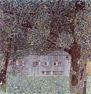 Климт Густав Крестьянский дом в Верхней Австрии