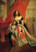 Портрет Вел.Кн.Елены Павловны с дочерью
