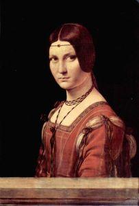 Леонардо да Винчи Портрет молодой женщины