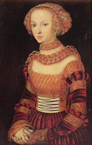 Портрет молодої пані
