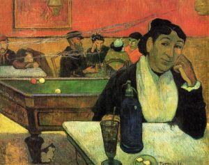 Гоген Поль В кафе