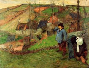 Гоген Поль Бретонський пастух