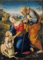 Святое семейство с агнцем