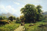 Швейцарский пейзаж