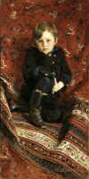 Портрет сына художника, Юрия