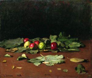 Репин Илья Яблоки и листья