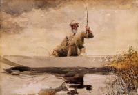 Рыбалка в горах Адирондак