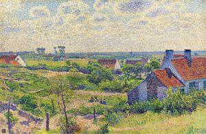 Рейссельберге Тео ван Пейзаж с домами