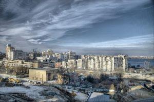 Фотокартины для интерьера Зимний пейзаж