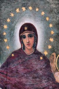 Фотокартины для интерьера Средневековые росписи