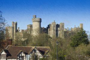 Фотокартины для интерьера Английский замок