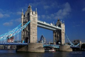 Фотокартины для интерьера В Лондоне