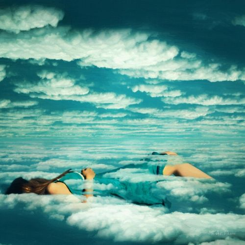 В облаках
