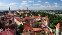 Вид на Старый город Таллинна
