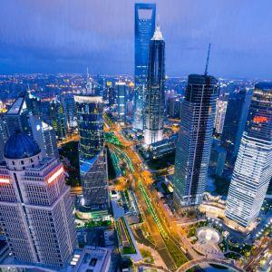 Фотокартини Вид на Шанхай