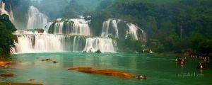 Художники Водопад во Вьетнаме