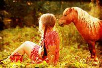 Дівчинка і поні