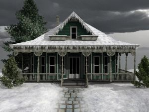 Замерзший дом