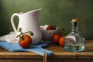 Фотокартины для интерьера Натюрморт с помидорами