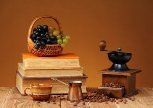 Фотокартини Натюрморт із книгами