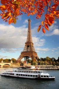 Фотокартины для интерьера Париж осенью