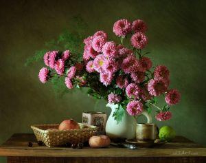 Фотокартини Рожеві квіти