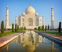 Тадж-Махал, знаменитый исторический памятник