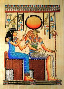 Печатные картины на холсте Египетский мотив