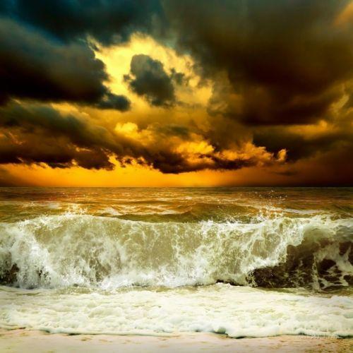 На морі