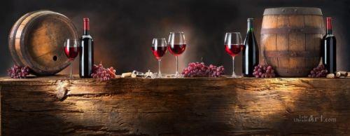 Натюрморт с вином - изображение 1