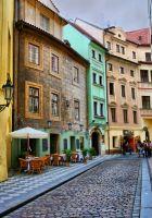 Старая улочка в Праге