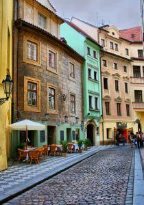 Фотокартины для интерьера Старая улочка в Праге