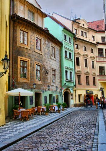 Стара вуличка в Празі