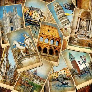 Фотокартины для интерьера Архитектурный коллаж