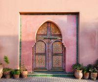 Традиционные арабские двери