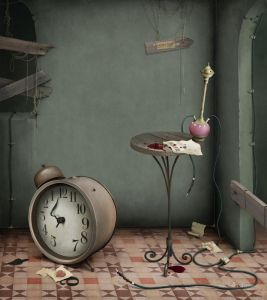 Фотокартины для интерьера Иллюстрация к сказке Алиса в Стране чудес