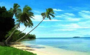 Фотокартины для интерьера Экзотический остров