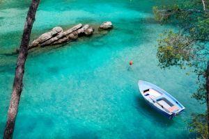Фотокартины для интерьера Пейзаж с лодкой